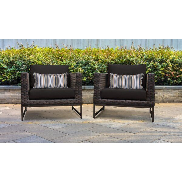 Barcelona Patio Chair With Cushions In 2020 Outdoor Wicker Patio Furniture Wicker Patio Furniture Set Patio Chairs