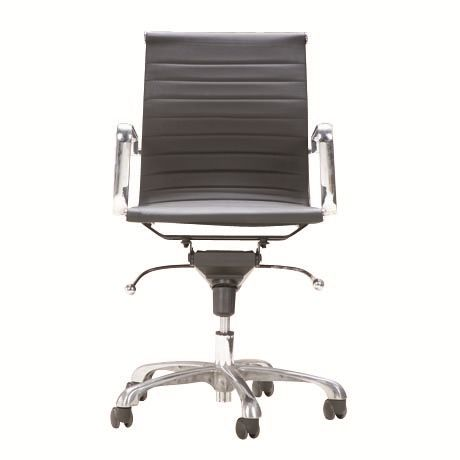 253 On Sale Addison Low Back Office Chair Pu Black