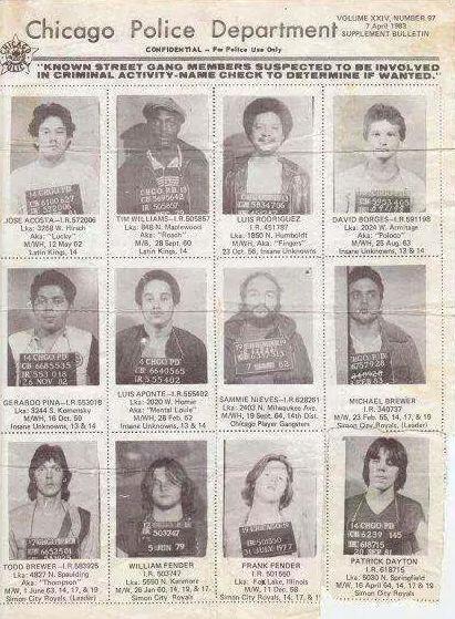 Chicago Gang Culture — Mugshots