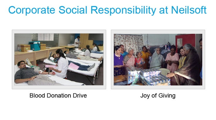 Corporate Social Responsibility at Neilsoft