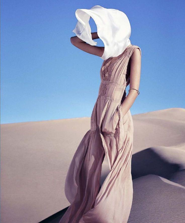 Harper's Bazaar US March 2015 | Josephine Le Tutour by Nathaniel Goldberg