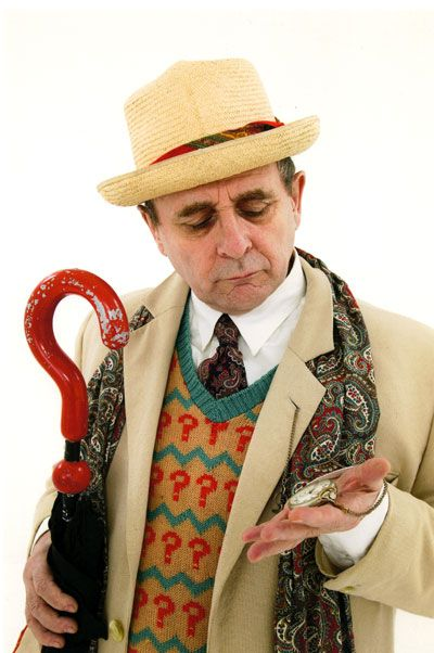 The 7th Doctor - Sylvester McCoy.