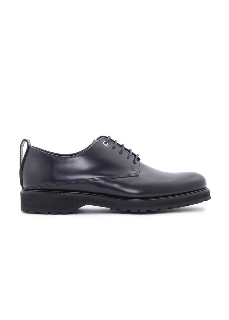 Want Les Essentiels de la Vie - Menswear - FW16 // Navy Montoro Lugged derby shoes in leather