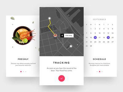 Onboarding Screen - Food ordering app