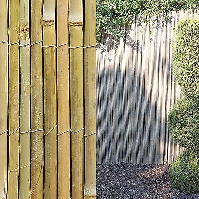 4m #bamboo slat #natural garden screening fencing fence panel #privacy screen rol,  View more on the LINK: 	http://www.zeppy.io/product/gb/2/142006256721/
