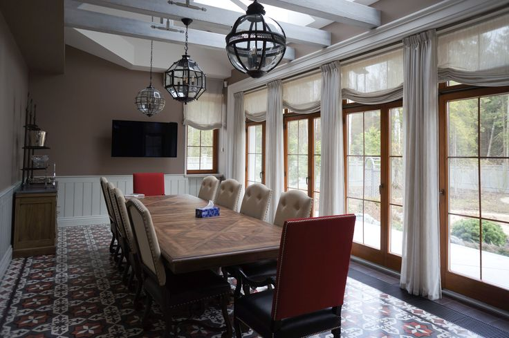 Dining room #traditional interior