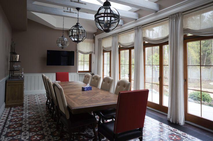 Dining room #traditional interior