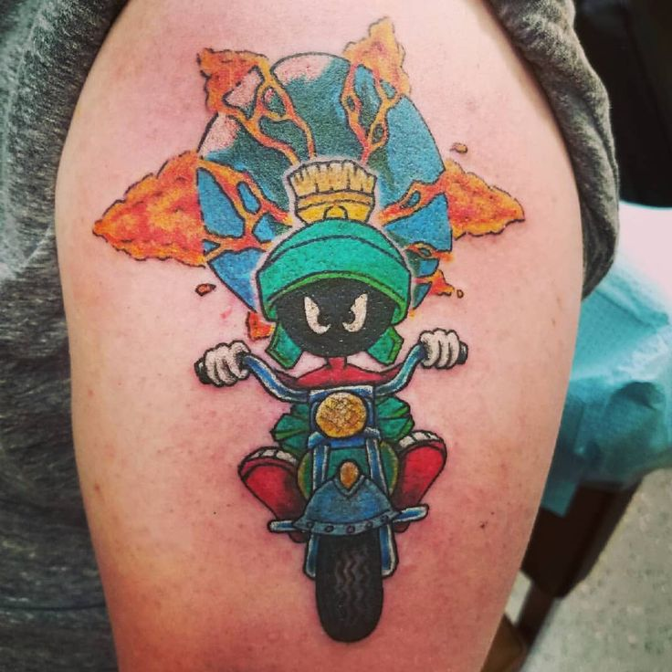 Marvin The Martian Tattoo Designs: Marvin The Martian Tattoo
