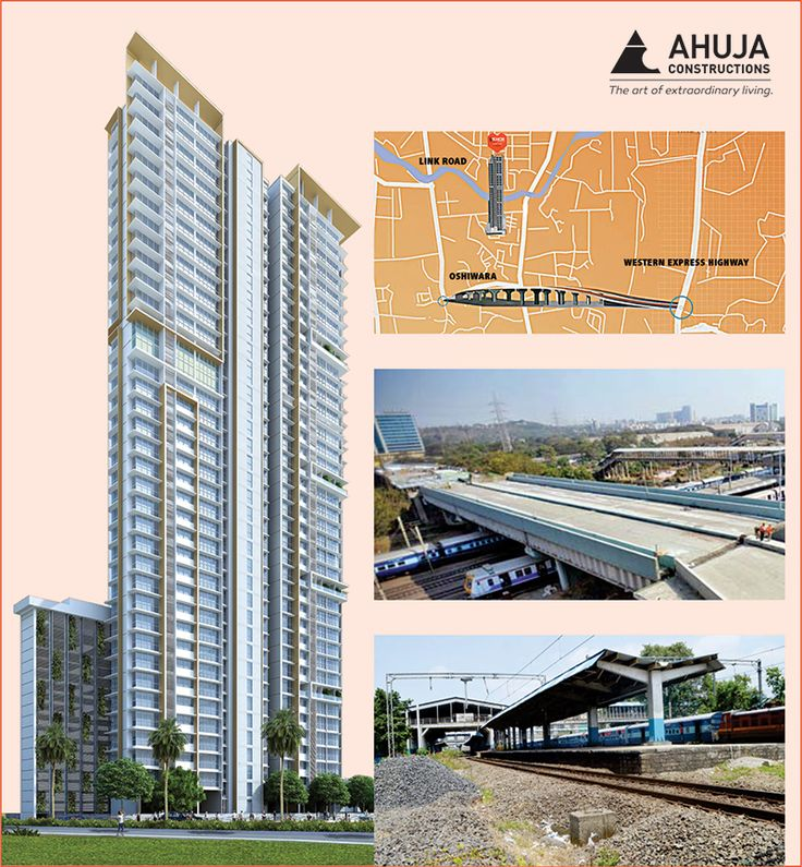 #Oshiwara flyover to open this April 30. Work in full-swing on upcoming rail station. Explore #AhujaLAmor  a residence right in the heart of this locale. Know More:  bit.ly/1XO2C0H