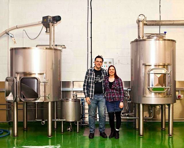 Husband and wife team Ken and Jenny Lynch have launched Serious Brewing Company, a new artisan micro brewery in...