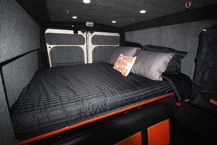 Custom Van Bed Sytsems Vanlife Van Bed Bed Custom Vans