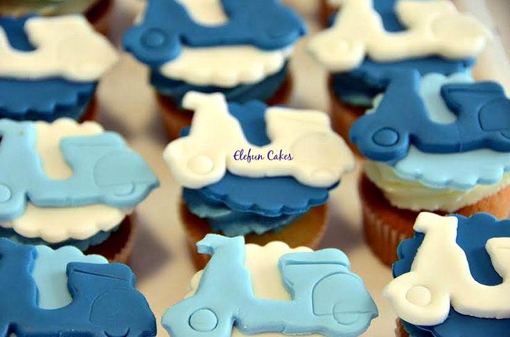 Vespa Cupcakes
