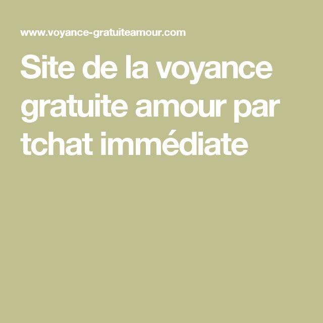 Site de la voyance gratuite amour par tchat immédiate