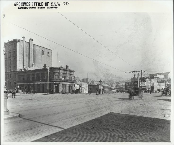 Alfred Street, Circular Quay (NSW) - Paragon Hotel is seen on lefthand side | by State Records NSW