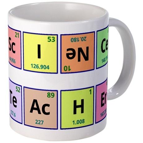 193 best periodic table awesomeness images on pinterest science teacher mug urtaz Choice Image