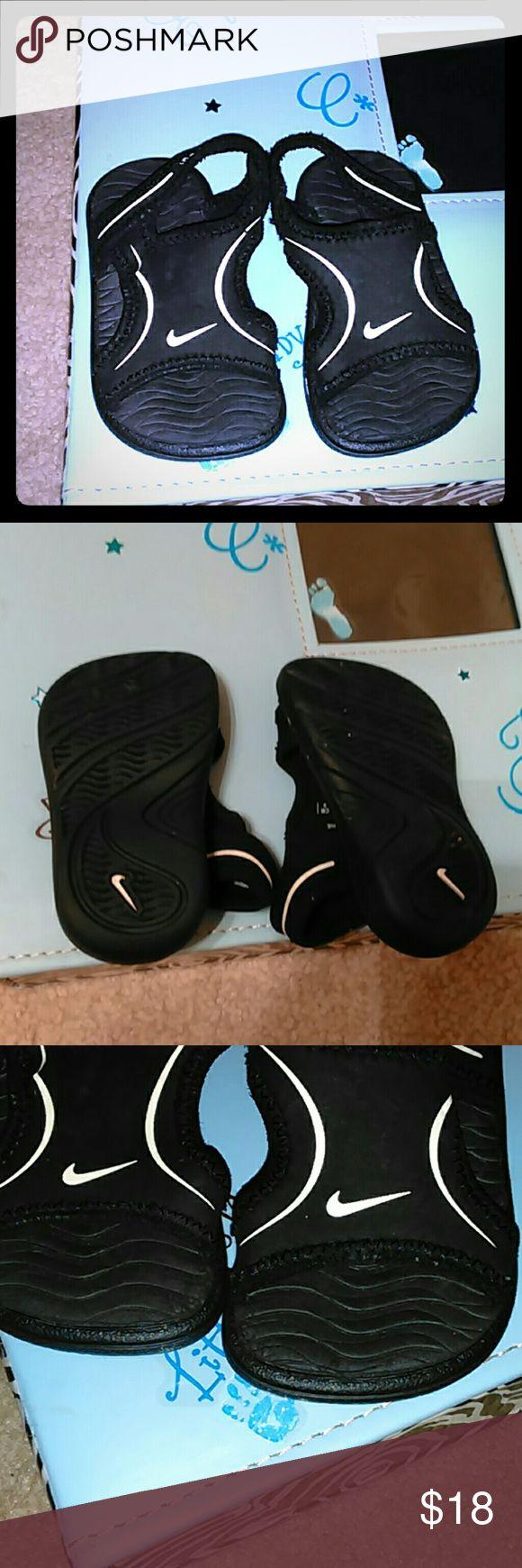 Baby Nike Sandals Black Baby Nike Sandals Nike Shoes