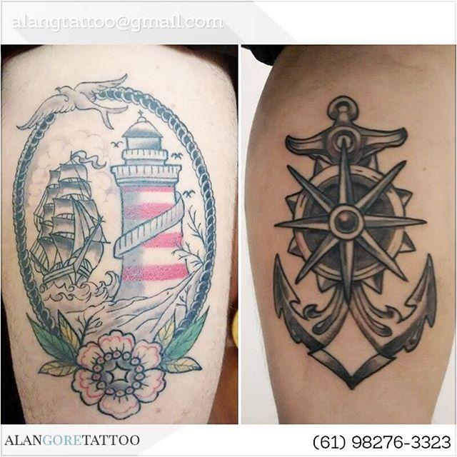 Tattoos do @w_catraca!  Agende sua tattoo: alangtattoo@gmail.com (61) 98276-3323  #tattoo #tatuagem  #tatuaje  #tatuador #tattoo2me #tatuagemideal #tguest #tattooist #galeriatattoo #tatuadordf #tatuadorbrasilia #brasília #brasilia #tattoobrasil #tattoobrasilia #alangoretattoo #alangore  # #taguatinga #aguasclaras #guará #guara #guaradf #inkmachines #eletricink #tattoistartmag #inked #boattattoo #navytattoo #anchortattoo #oldschooltattoo