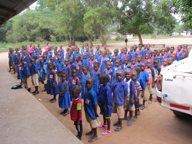 St. George RC Primary School, Sierra Leone