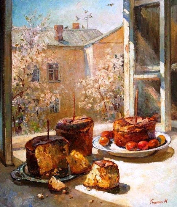 Михаил Алексеевич Калинин - Светлое Воскресение Христово (Michail Kalinin - Easter)