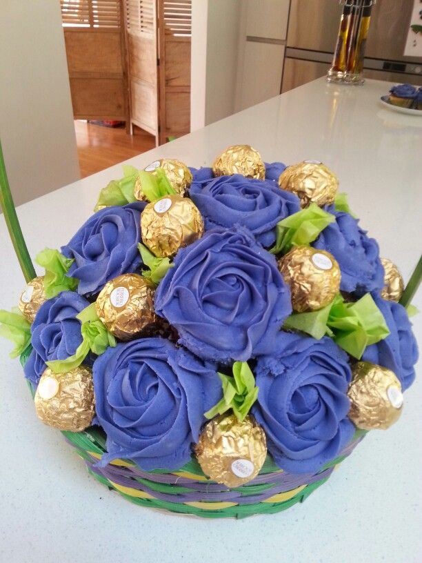 Bouquets of cupcake