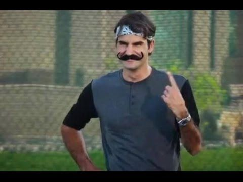Don't miss this compilation of Roger Federer's funniest moments!