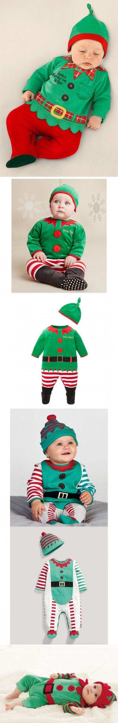 Christmas Baby Rompers Santa Costumes Baby Clothing sets Overall baby boy clothes jumpsuit roupa de bebe roupas para bebe menino
