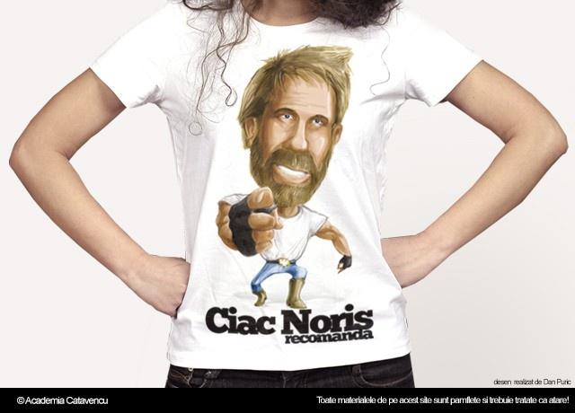 Daca Ciac Noris iti recomanda atunci trebuie sa faci ca el... clarrrrr