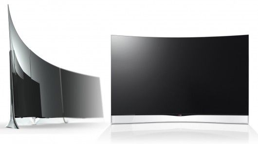 LG will become the first to get a curved OLED TV to market with its 55-inch 55EA9800 set to be in Korean homes from next month.