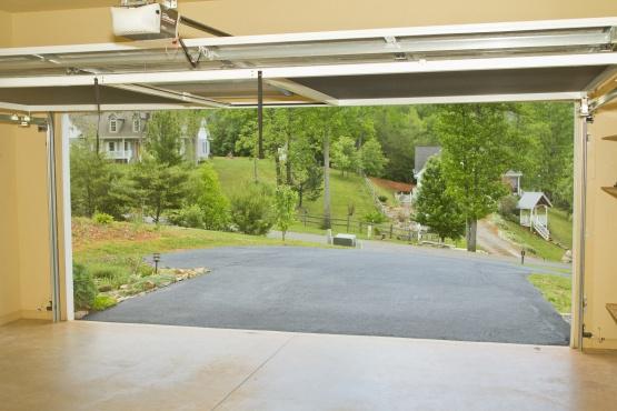 Screen To Fit Garage Door Opening Letting Air Flow