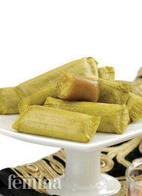 Timphan Asokaya is original steam cake from Aceh (Sumatera Island) - Indonesia