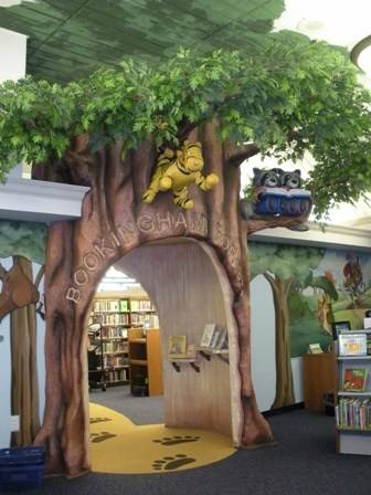 """Bookingham Forest""  Old Worthington Library Columbus, OH"