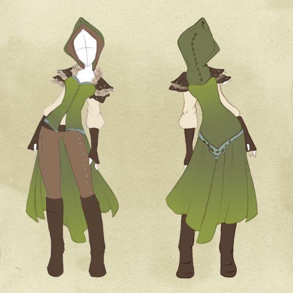 :: Commission outfit 21 :: by VioletKy.deviantart.com on @deviantART