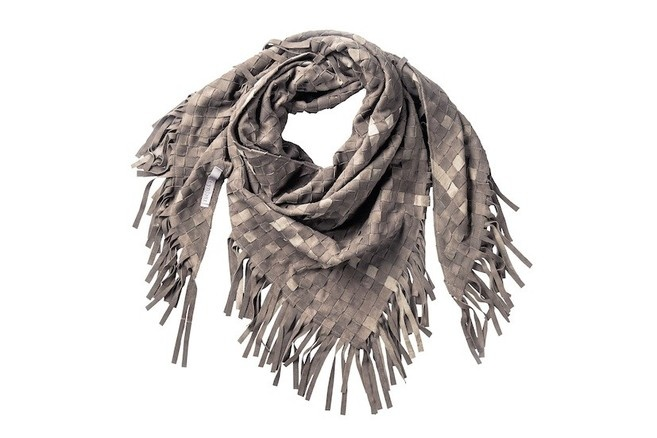 pretty leather scarf by Feynest <3