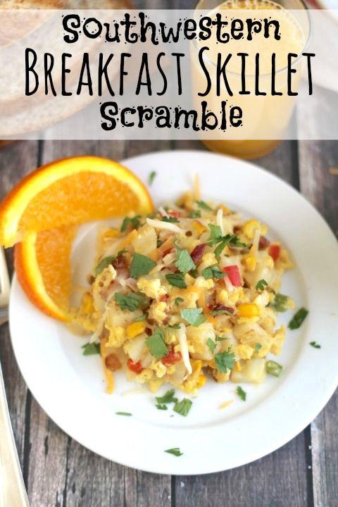 Southwestern Breakfast Skillet Scramble | Recipe | Skillets ...