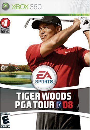 Tiger Woods PGA Tour 08 - Xbox 360 Game