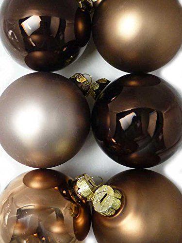 6-er Set braune hochwertige große Christbaumkugeln aus Glas im Mix – BRAUN – matt und glanz – 8 cm Siehe mehr unter http://www.woonio.de/p/6-er-set-braune-hochwertige-grosse-christbaumkugeln-aus-glas-im-mix-braun-matt-und-glanz-8-cm/