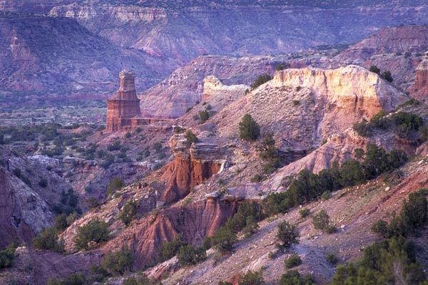 Palo Duro Canyon - in Texas