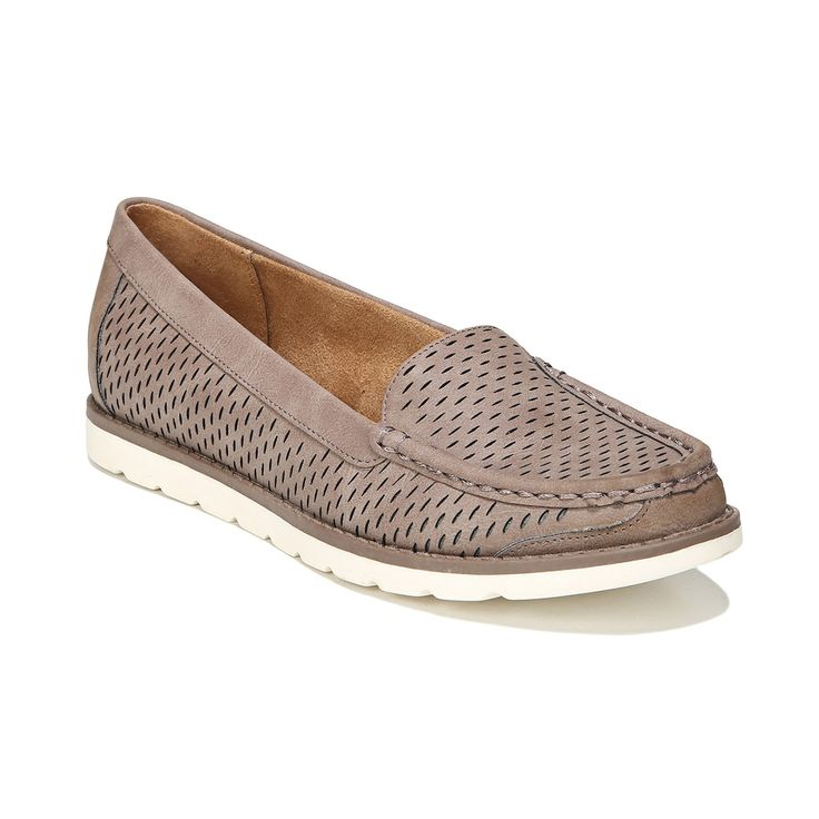 NaturalSoul by naturalizer Isla Women's Boat Shoes, Brown Over