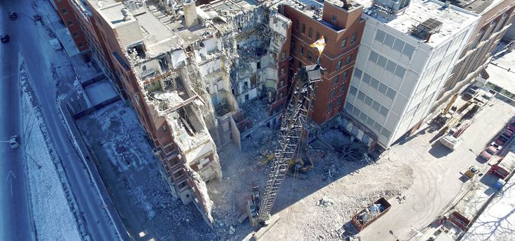 Heneghan Wrecking is the leader in structural and interior demolition services in the Chicago area, and has been serving the community since 1973. We also provide emergency response services, and environmental clean up in conjunction with our demolition projects, on site crushing as well.