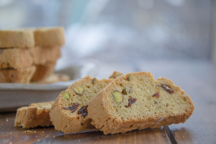 Cranberry Pistachio - the perfect holiday cookie, studded with red cranberries and green pistachios
