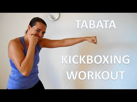 24 Minute Tabata Kickboxing Workout – Cardio Kickboxing Workout For Beginners At Home - YouTube