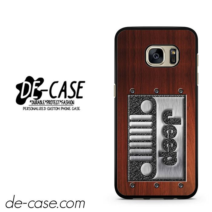 Embossed Steel Jeep DEAL-3932 Samsung Phonecase Cover For Samsung Galaxy S7 / S7 Edge