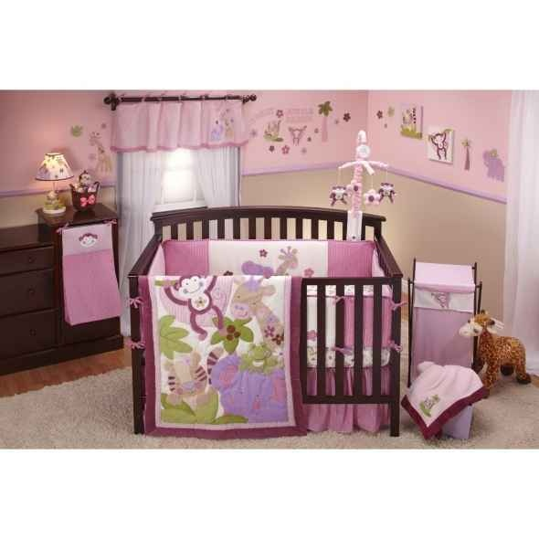 17 best images about baby girl nursery on pinterest baby crib bedding babies r us and crib sets. Black Bedroom Furniture Sets. Home Design Ideas