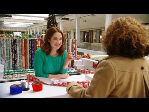 Watch Ellie Kemper( Erin from the Office)  Pretend To Be A Mall Gift Wrapper literally laughed way too hard SO FUNNY
