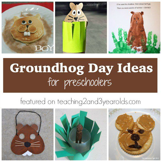 Groundhog's Day is a fun opportunity to teach preschoolers about light and shadow, plus there are so many cute props they can make to go along with fun poems and songs. There are even some cooking activities that work well for this day. I collected over 15 different simple Groundhog Day activities for preschoolers that can work in the classroom or at home.