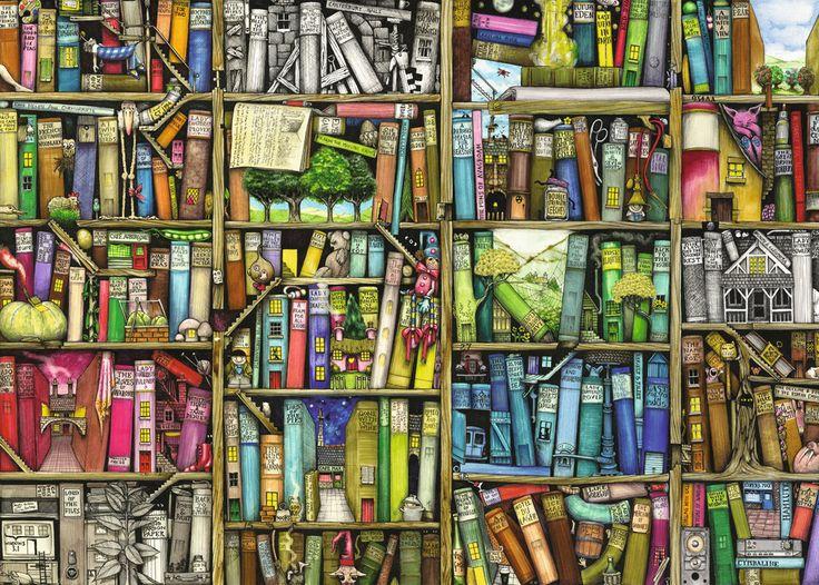 La libreria bizzarra   Puzzle da Adulti   Puzzle   Prodotti   IT   ravensburger.com