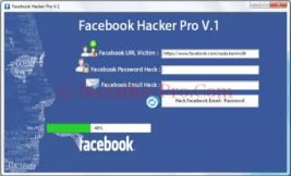 Facebook Hacker Pro 2.8.9 Crack Free Download