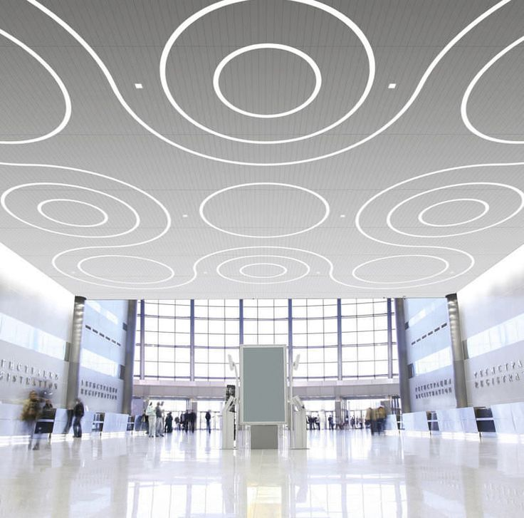 ceiling lighting design Contemorary Decorations. Linear Recessed LED  Ceiling Light Fixture In Modular Lighting System
