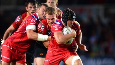 Scarlets' flanker James Davies approached over Olympics