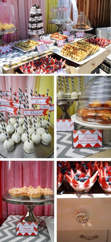 ideas for bridal shower brunch food%0A bridal shower brunch   Bridal Shower Brunch   cakepops  Brunch FoodBrunch  IdeasBrunch